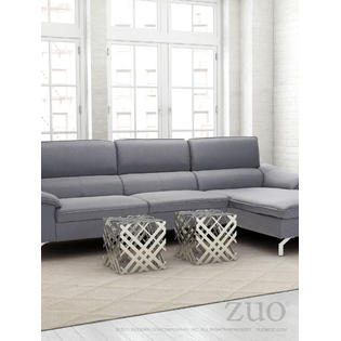 america luxury modern contemporary urban design living lounge room prod accent table silver gray polished aluminium door floor plate outside grills teak sofa black and white