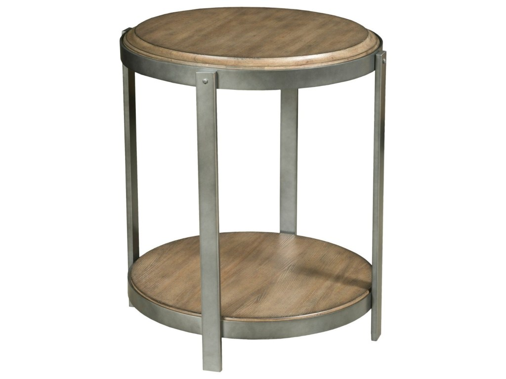 american drew evoke round accent table with shelf howell furniture products color room essentials cart ikea storage cylinder lamp modern pottery barn dining set vinyl floor