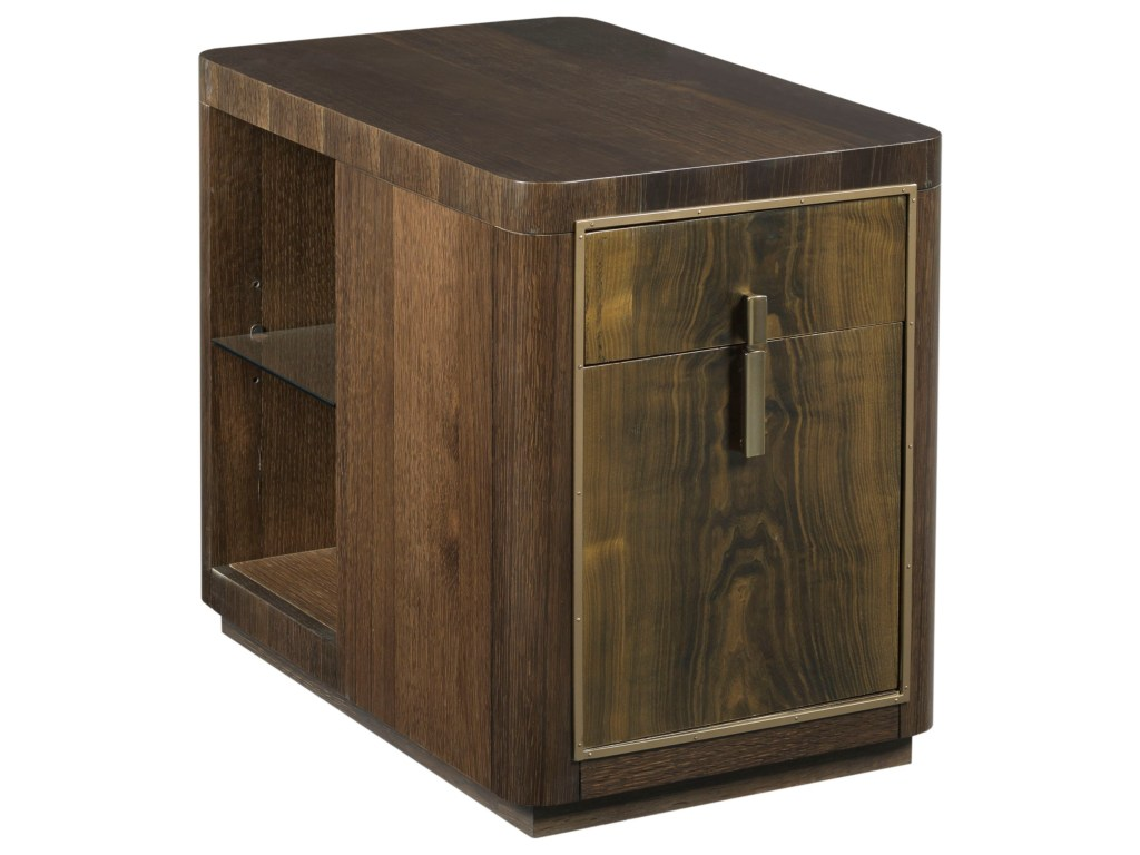 american drew modern organics kern drawer end table with file products color wood one accent threshold organicskern lift top side industrial currey and company tiffany peacock
