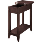 american heritage flip top tall side table multiple colors with basket storage large round accent coffee clear glass shoe closet kitchen bench small low scandinavian style wood 150x150