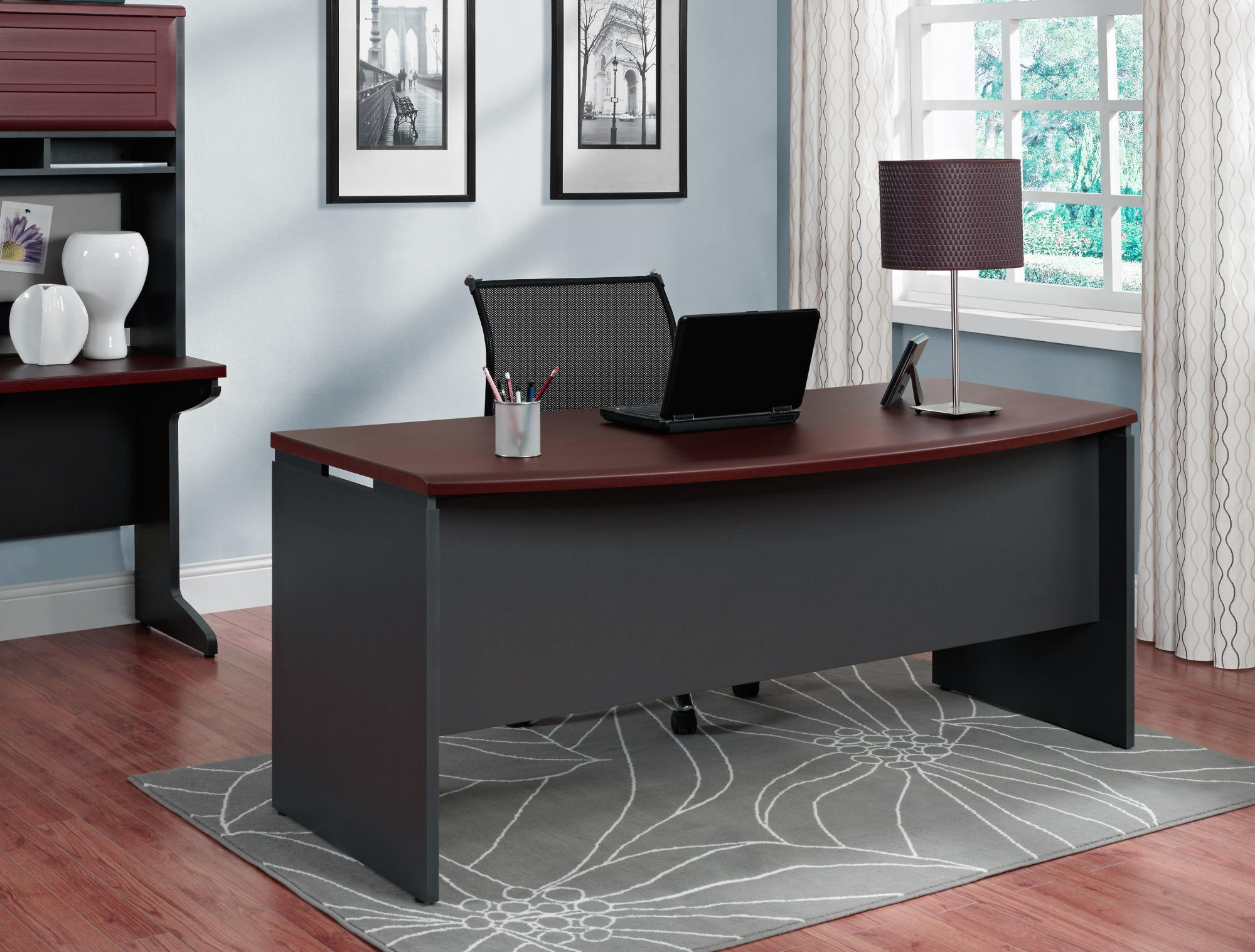 ameriwood furniture pursuit executive desk cherry corner accent table diy granite countertops rustic pedestal gresham nightstand ideas pottery barn side chairs unique dining
