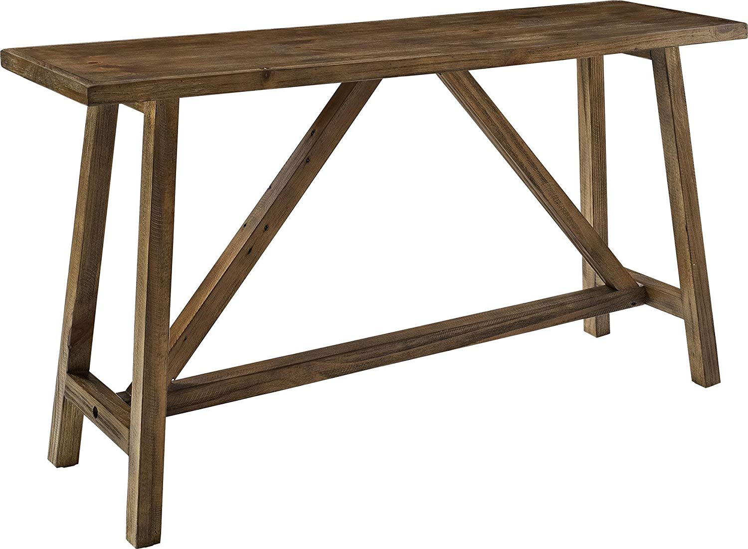 ameriwood home bennington console table rustic kitchen accent ottawa dining target cocktail small cover pottery barn nightstand industrial cart coffee cylinder lamp modern