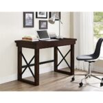 ameriwood home forest grove rustic gray computer desk with storage mahogany altra furniture desks better homes and gardens accent table customer reviews glass mirror dresser big 150x150