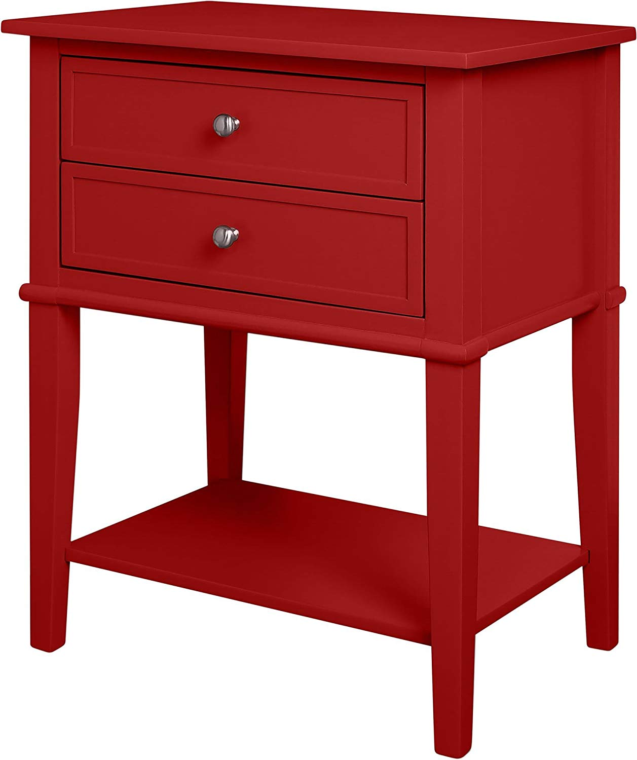 ameriwood home franklin accent table with drawers red kitchen dining hall chests and cabinets vinyl floor threshold west elm lamp shades bunnings outdoor drawer chest glass coffee