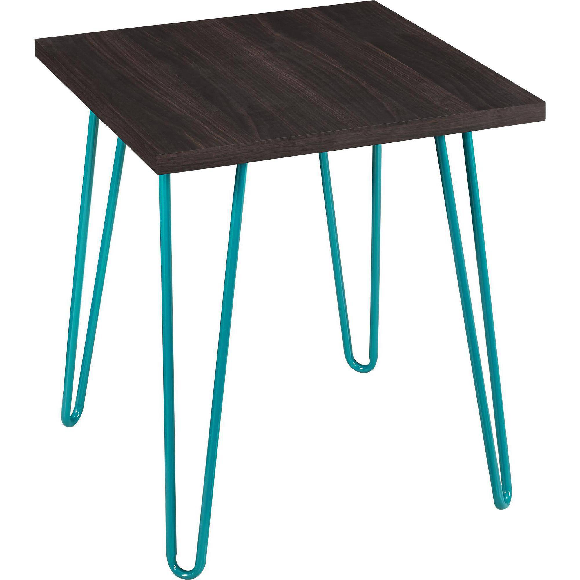 ameriwood home owen retro end table espresso teal small outdoor furniture miami patio umbrella big lots beds long narrow console gold plastic tablecloth queen anne chair legs