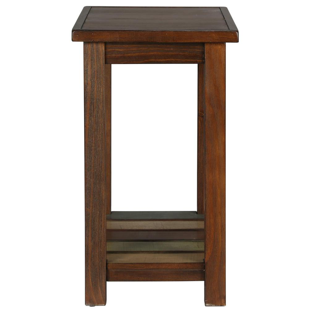 Ameriwood Tahoe Espresso Accent Table The End Tables Side