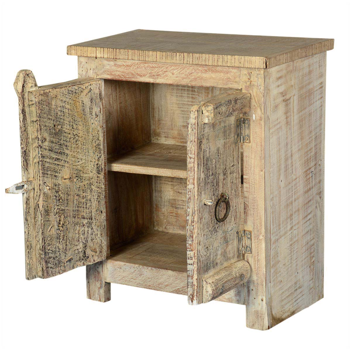 amish door old wood small rustic accent end table hallway with shelves pier one calgary shabby chic floor lamp buffet ikea barn decor cloth target threshold windham cabinet
