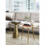 amoeba side table gold products moe whole tall accent tables corner dining set furniture cream colored tablecloth small half moon hall nic umbrella utility sink bar height legs 150x150