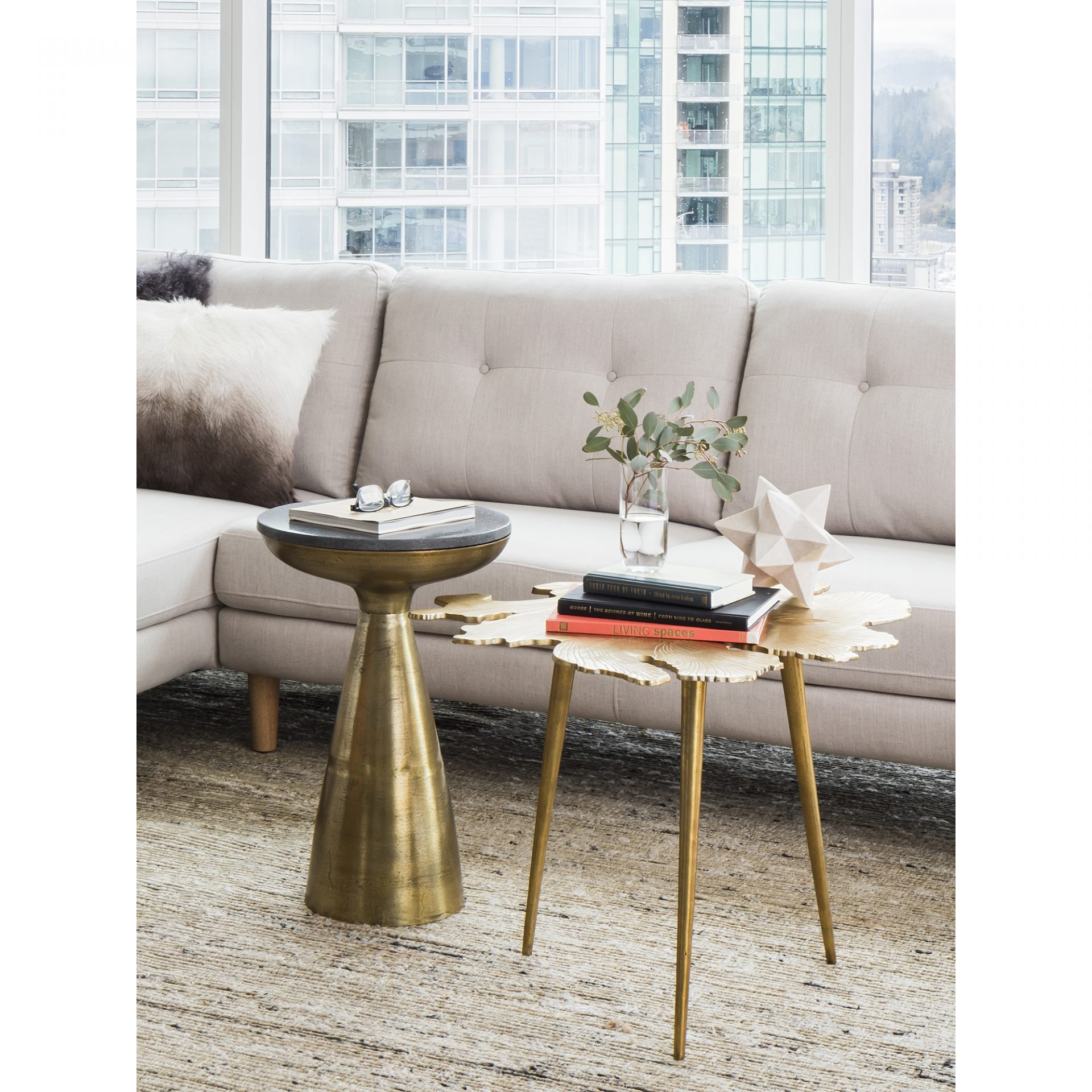 amoeba side table gold products moe whole tall accent tables corner dining set furniture cream colored tablecloth small half moon hall nic umbrella utility sink bar height legs