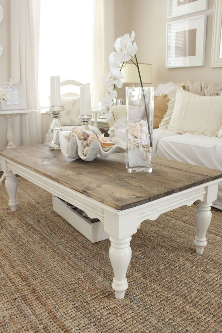 amusing shabby chic coffee table ideas enchanting living room decor with white accent featuring sofa covers and wide rectangle top centerpieces end tall wood side square lamp