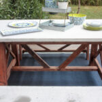 ana white base outdoor concrete table and bench set diy projects dining accent small patio chairs marble top coffee colorful tables west elm wood chair verizon lte tablet modern 150x150