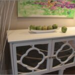 ana white chunky rustic hall console sofa table diy projects modern hallway with mirrored quatrefoil detail ikea accent clock design coffee storage garden sheds ashley furniture 150x150
