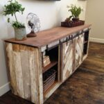 ana white grandy sliding door console diy projects accent table with doors rustic distressed barn furniture buffet cabinet chic coffee miniature lamps pottery frog drum couch legs 150x150
