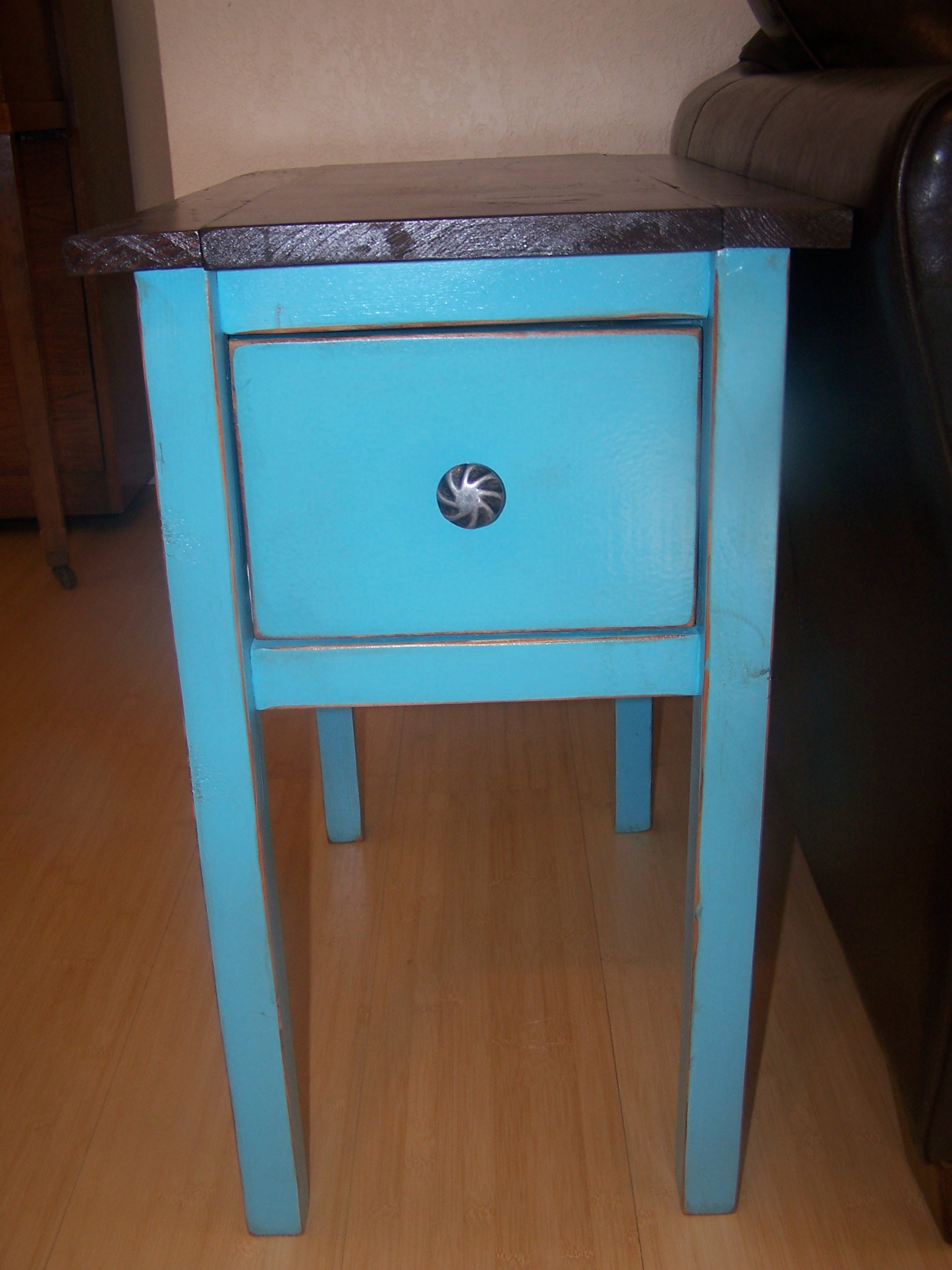 ana white narrow cottage end tables diy projects teal blue table glass target dining room chairs kijiji inexpensive patio ethan wood plank mercury row console large runner ikea