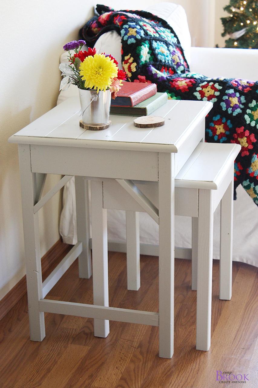 Ana White Preston Nesting Side Tables Diy Projects Pottery Barn