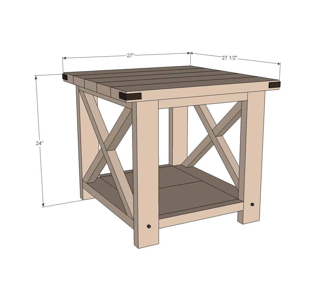 ana white rustic end table diy projects barnwood accent luxury tablecloths tables entry decor ideas desk furniture brass and marble side curved patio umbrella nightstand legs