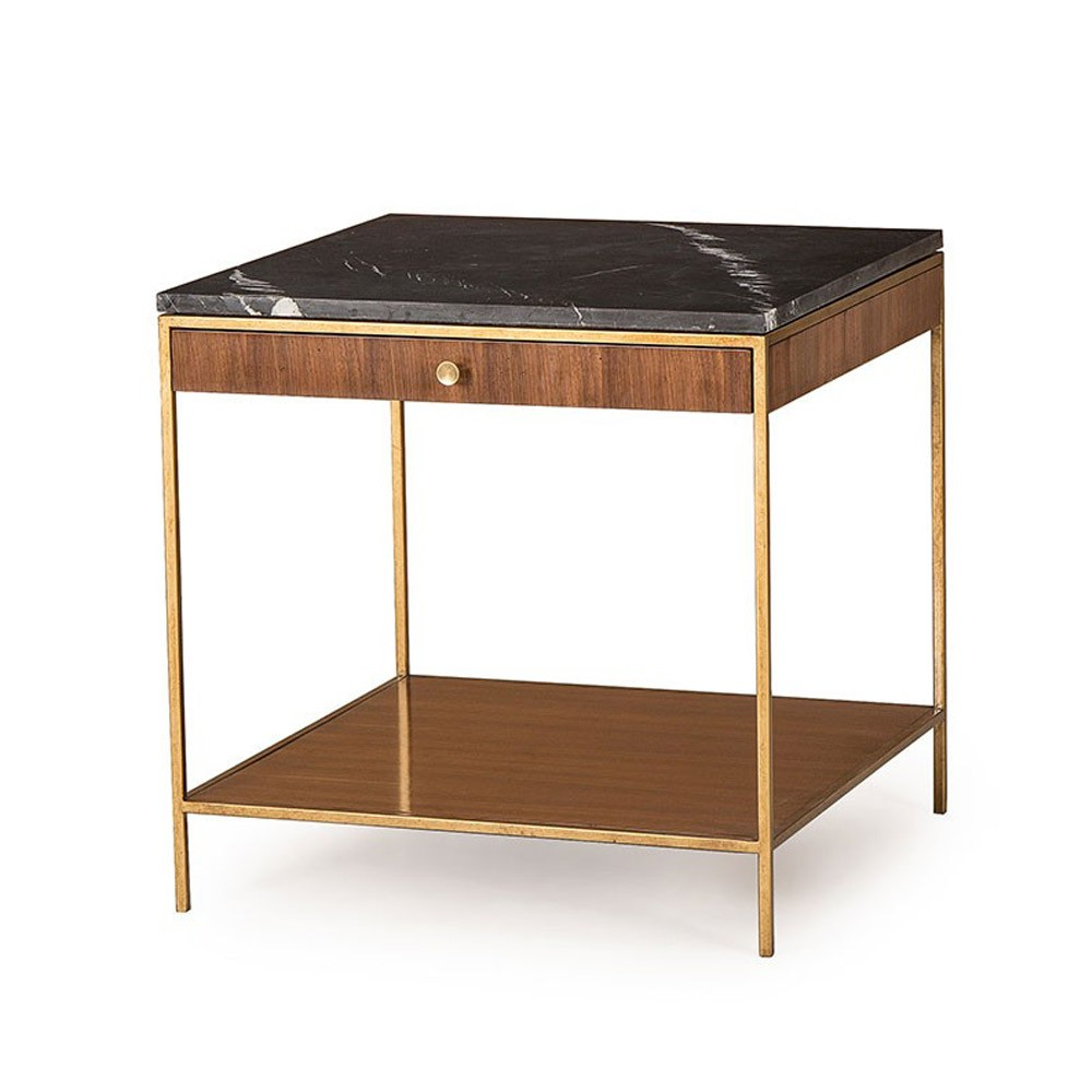 andrew martin furniture collection houseology accent table rufus side counter height pub lazy susan battery light metal occasional tables glass end set chest mid century modern