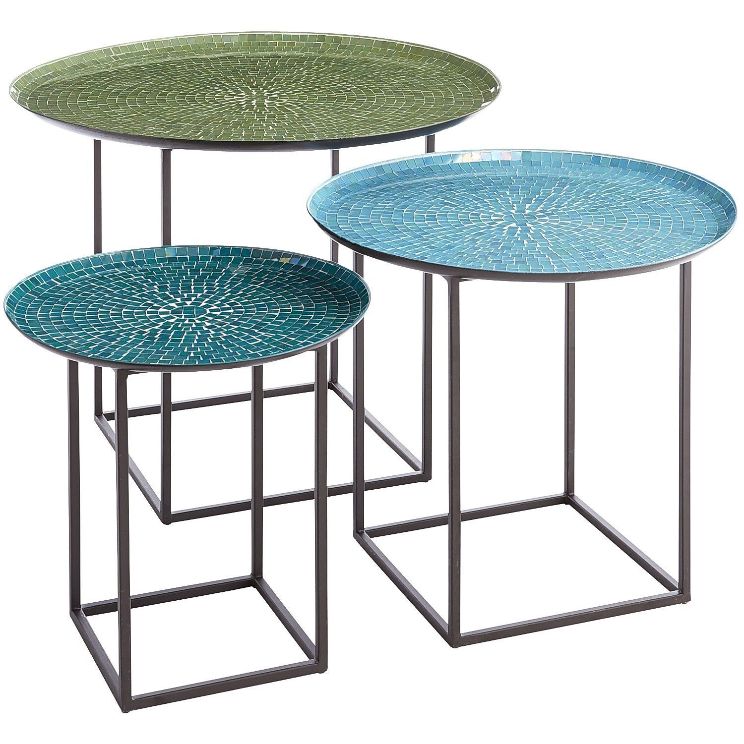 annabelle blue piece mosaic coffee table set home improvement outdoor side square patio kirklands bar stools espresso wood end tables hampton bay wicker furniture yellow lamp