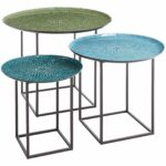 annabelle blue piece mosaic coffee table set mosaics and accent outdoor tall narrow target kitchen nesting dining chairs vintage metal garden storage solutions glass clearance two 150x150
