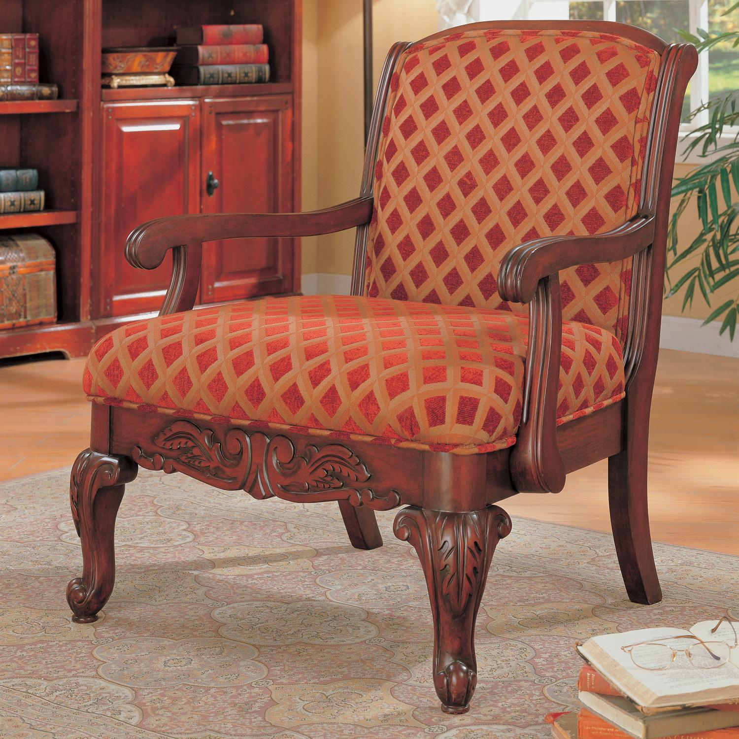 antique and vintage upholstered red gold accent chair furniture with arms wooden frame ideas chairs pattern high back village dining tables oak clearance bunk beds vanity desk