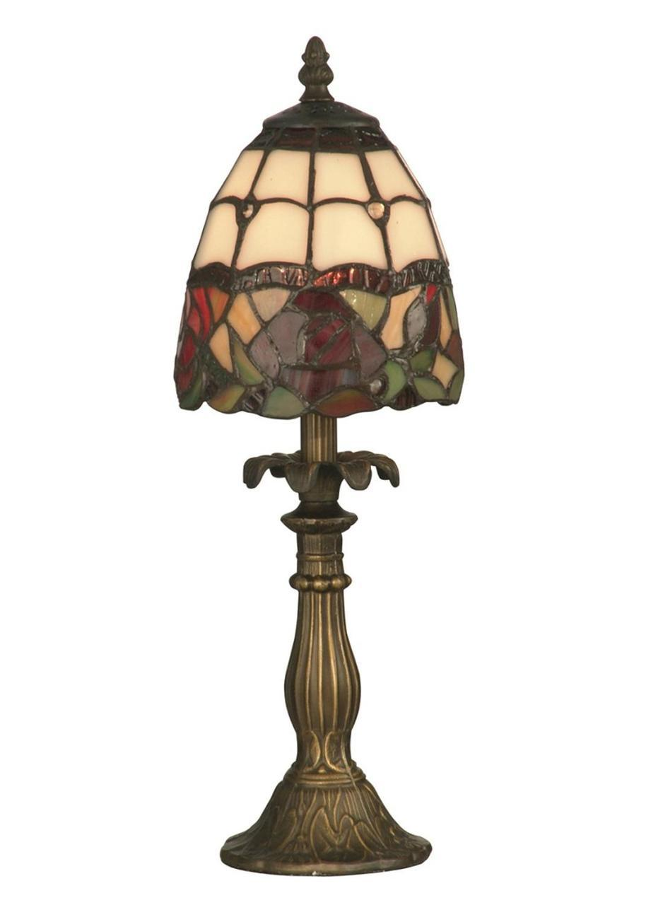 antique brass floral enid hand crafted glass tiffany style accent table lamp west elm mid century everyday centerpieces white and gold dining room tables edmonton set red