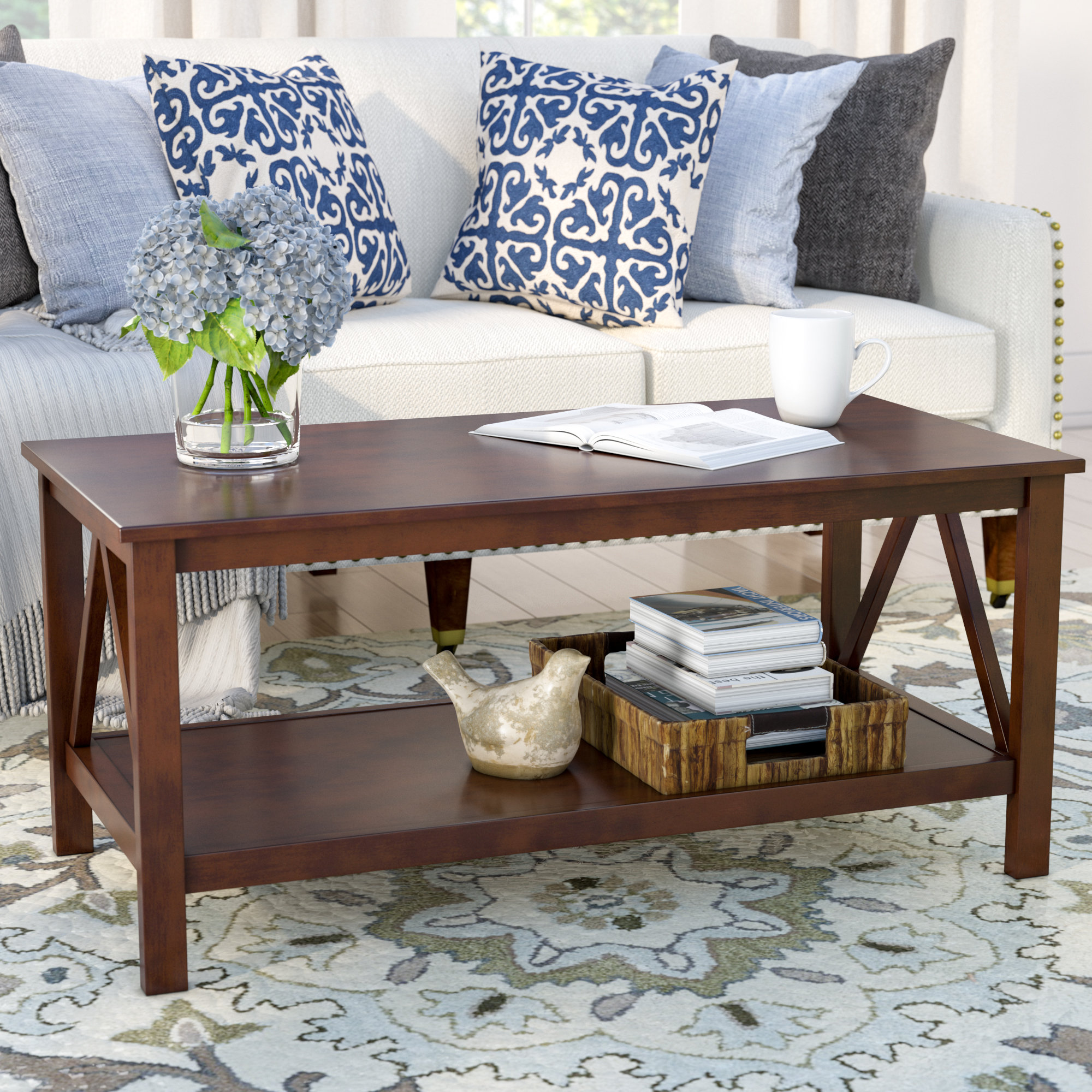 antique coffee table brassiewood the eryn accent farmhouse style side inch round christmas tablecloth wood one drawer threshold west elm lighting grey bedroom lamps cool home