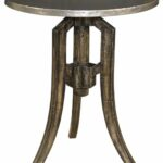antique garden round accent black metal white classic pedestal table dining outdoor and half patio small side distressed full size mattress plus yellow lamp base west elm globe 150x150