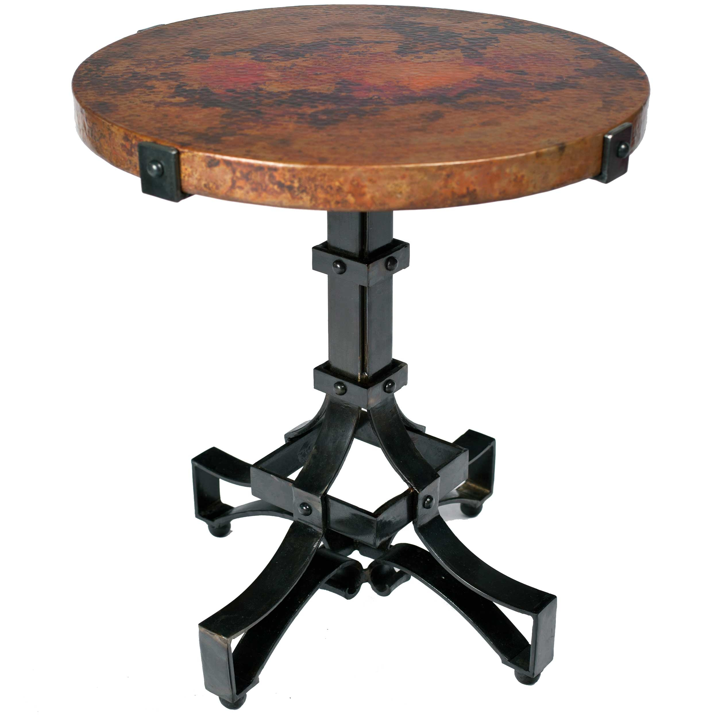 antique garden round accent black metal white classic pedestal table half outdoor distressed small end patio side and full size tables inch furniture legs ikea lamp shades modern