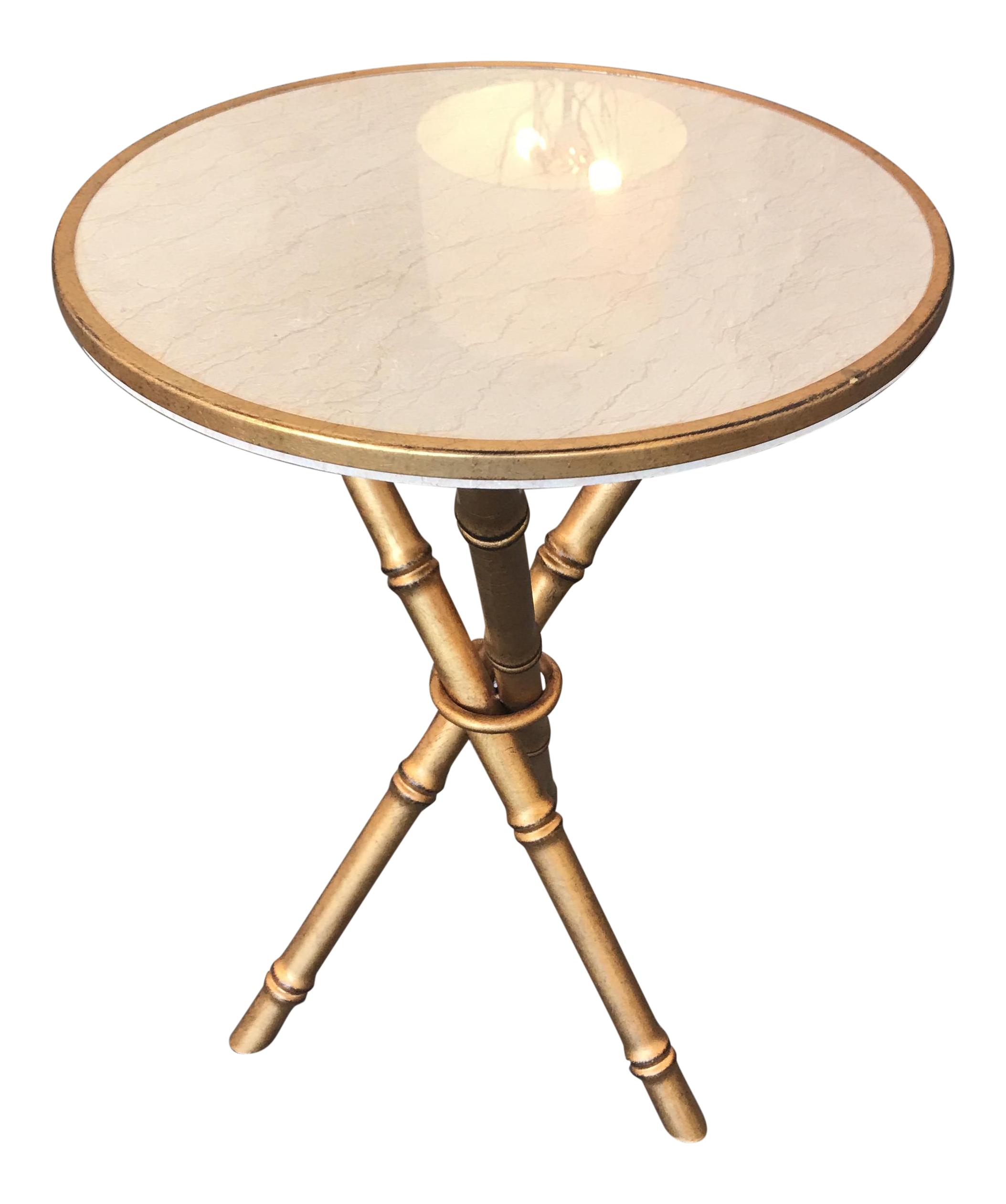 antique gold and faux marble accent table chairish old wood end tables brown patio side asian lamps elephant outside set kidney coffee contemporary round gloss bengal manor mango