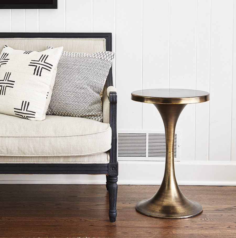 antique gold pedestal accent table tables dear keaton styled wood end target sleeper sofa glass stacking coffee blue bedside lamps west elm round mirror outdoor plans tiffany