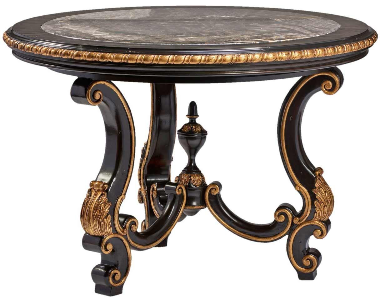 antique looking black accent table foyer and center tables cement top ceramic drum gold mirrored small with lamp attached narrow console vanity furniture kitchen wine cabinet