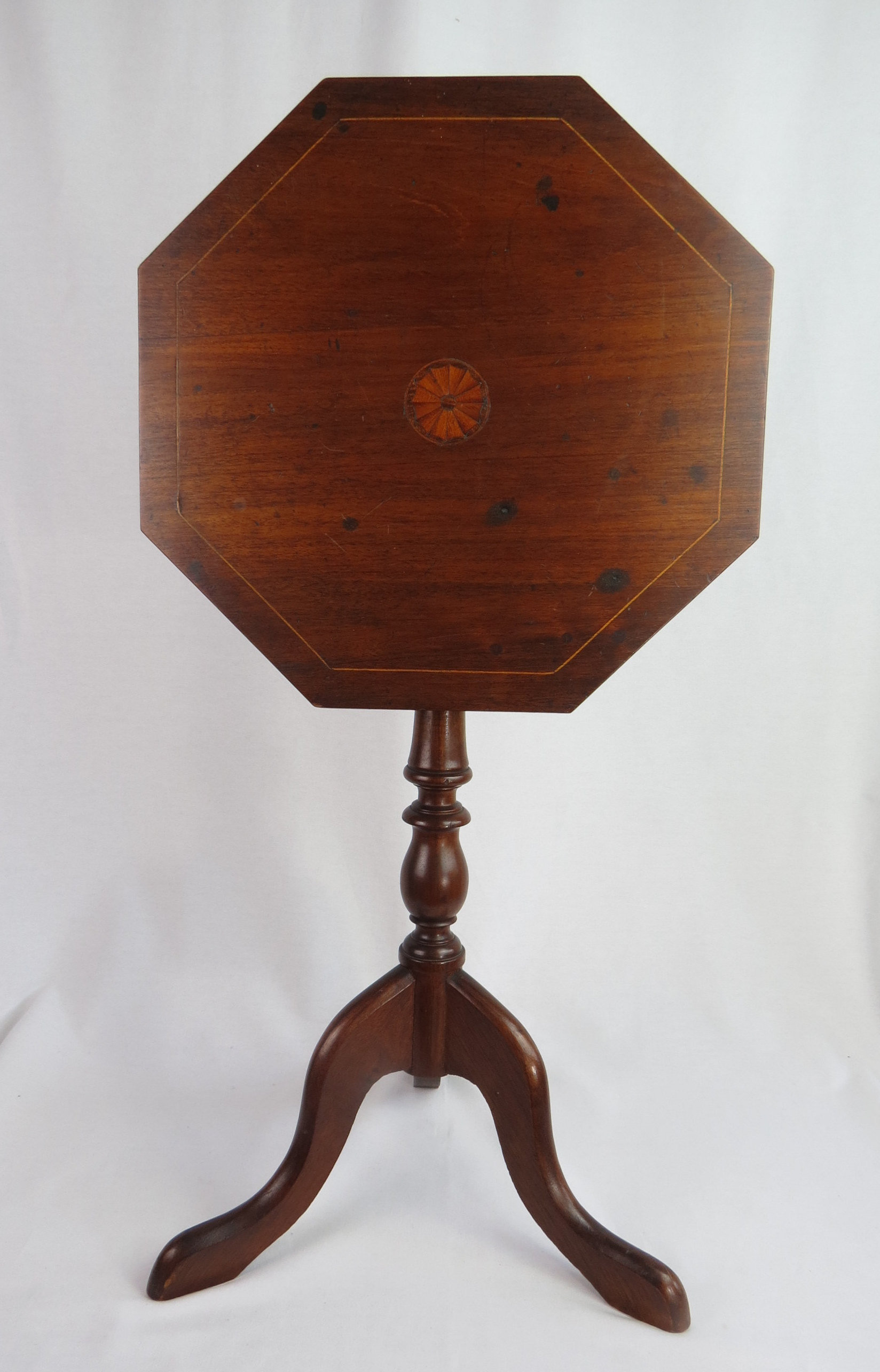 antique mahogany hexagon tilt top inlaid side table small etsy fullxfull aogv oval accent high end tables cool lamps marble coffee red oriental lamp modern dining room pier