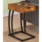 antique storage drawer snack accent table with power strip free shipping today tall black side nest tables modern floor lamp usb port safavieh kiley white bedroom chair gold decor 150x150