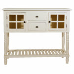 antique white console table decarlo room essentials accent quickview piece bistro set hobby lobby outdoor furniture laminate door threshold black and knotty pine bar stools round 150x150