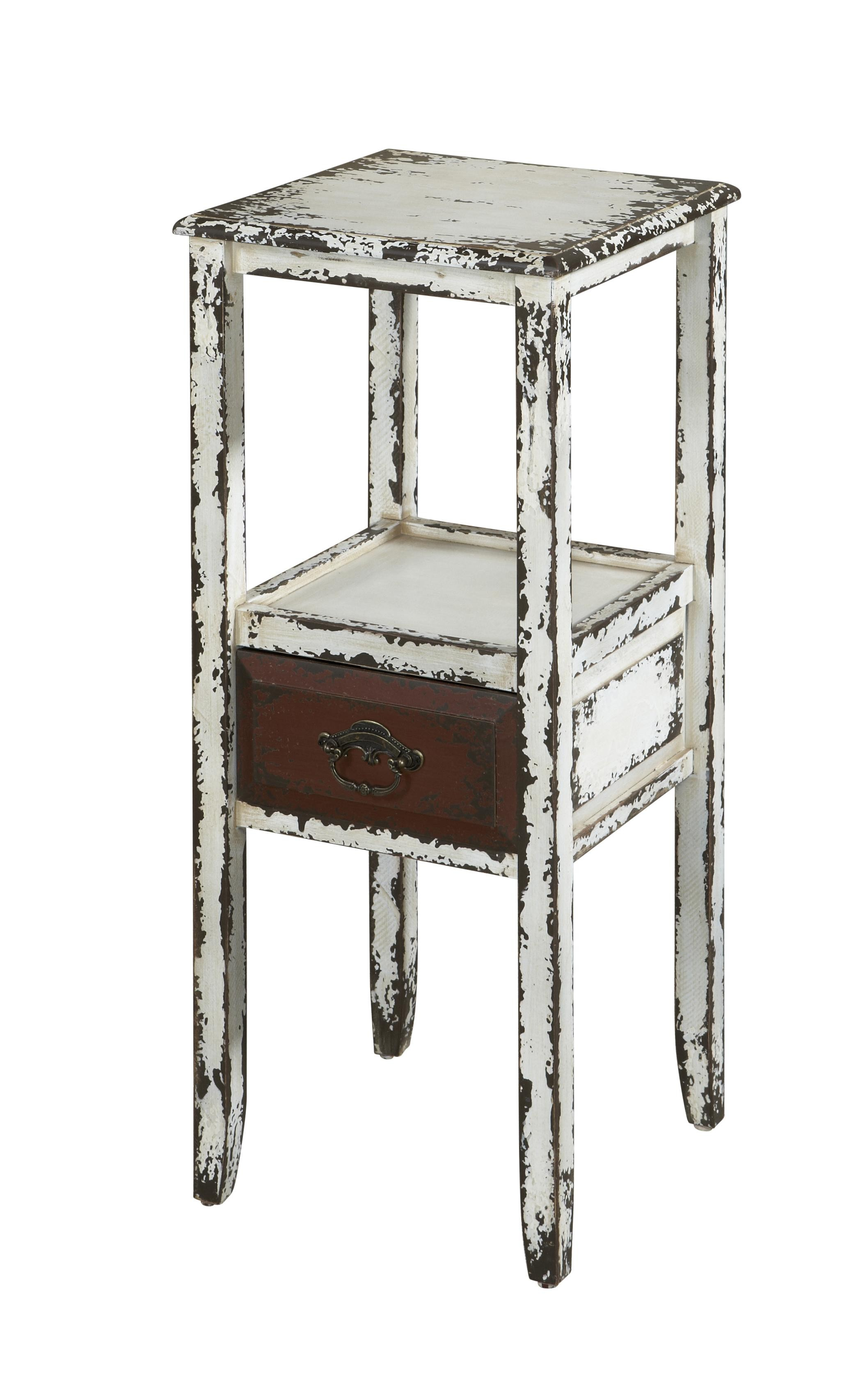 antique white end tables powell parcel drum accent table gold night stands floor threshold transitions metal wood and side hairpin legs fred meyer furniture marble tiered glass