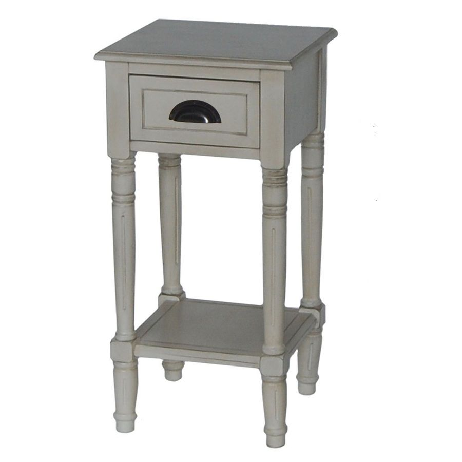 antique white oak accent table set nursery home round nest coffee tables tro lamps kitchen lighting large clocks pottery barn console tall skinny entryway timber furniture marble