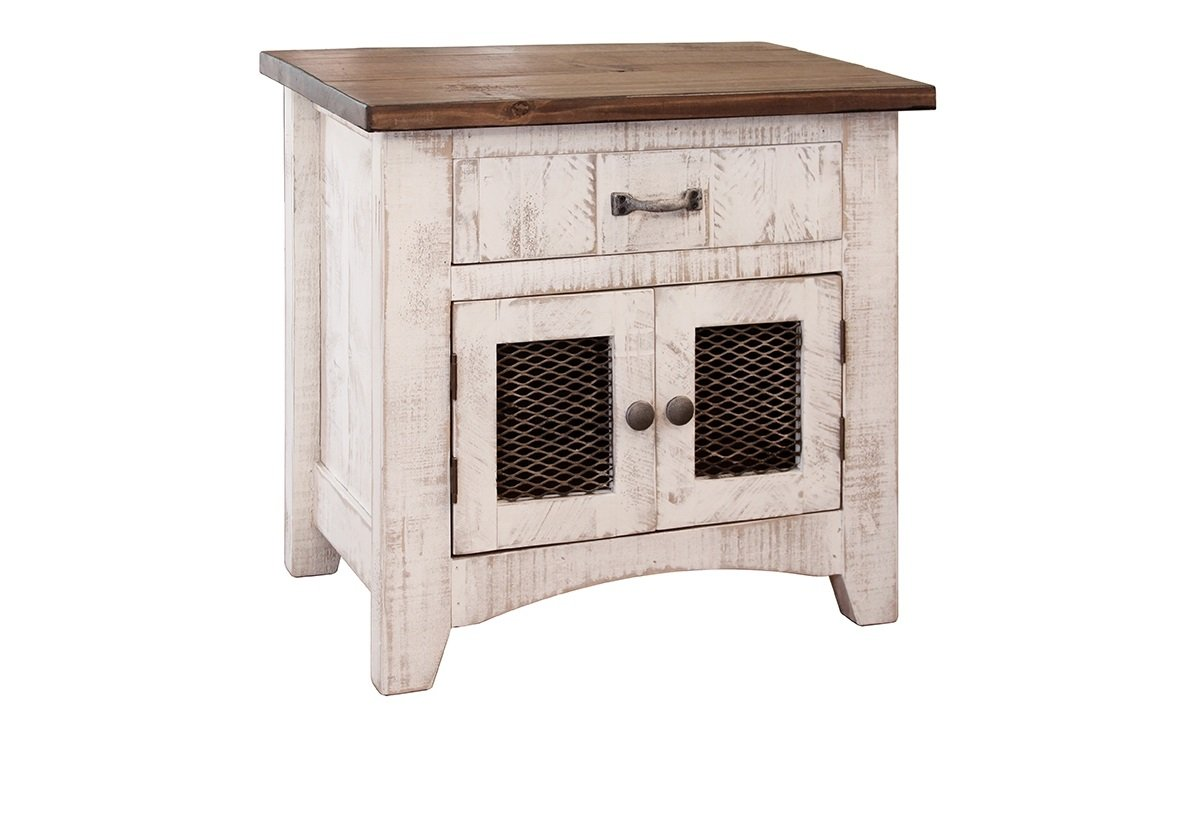 anton distressed white bedside table nightstand wood accent matches barn door series kitchen dining small end tables hobby lobby furniture office workstation outdoor perth gold