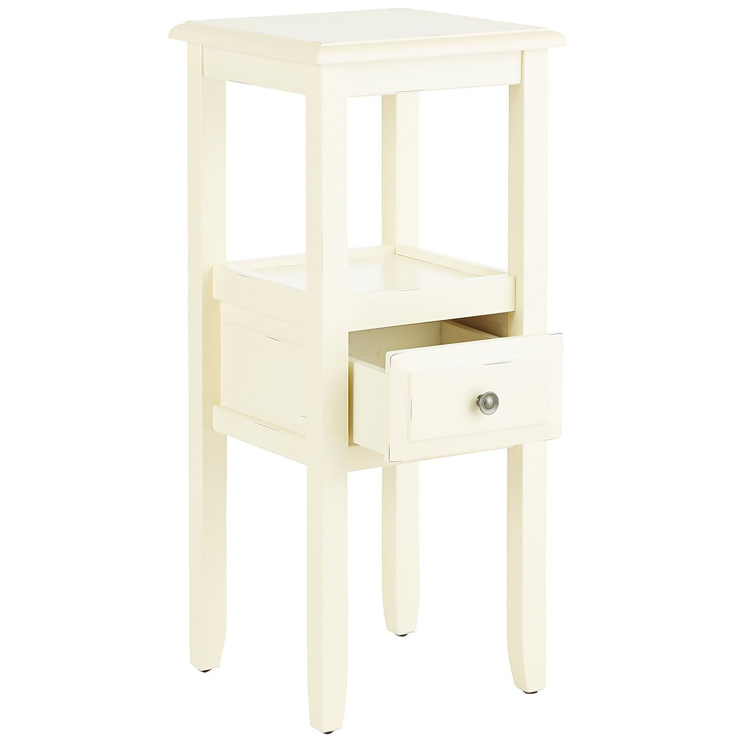 anywhere antique white pedestal table with knobs pier imports one accent mainstays parsons desk drawer lawn chair umbrella small end tables target pottery barn dishes garden