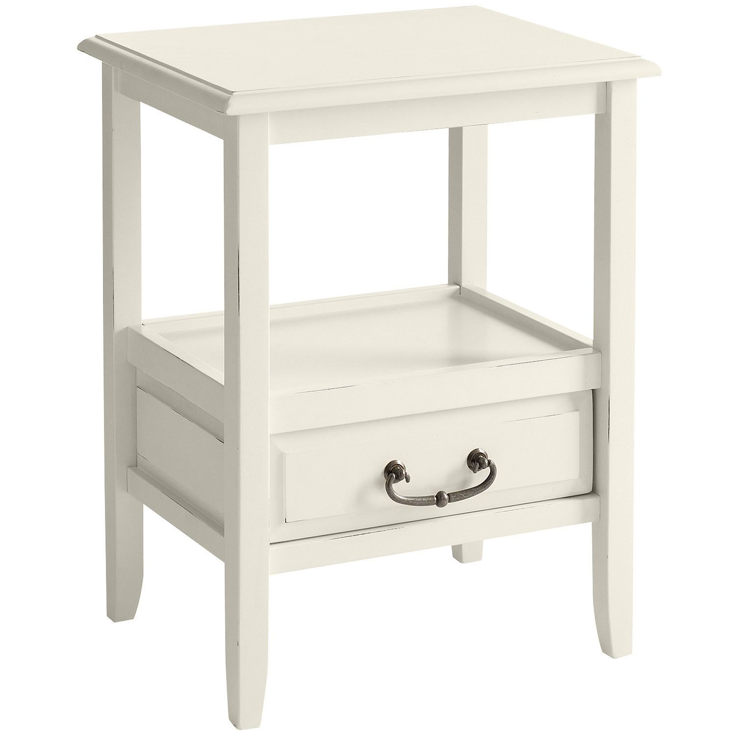 anywhere end table antique white pier available lcf accent tables fruit cocktail recipe half moon small brass coffee ethan allen painted furniture home ornaments wooden bar