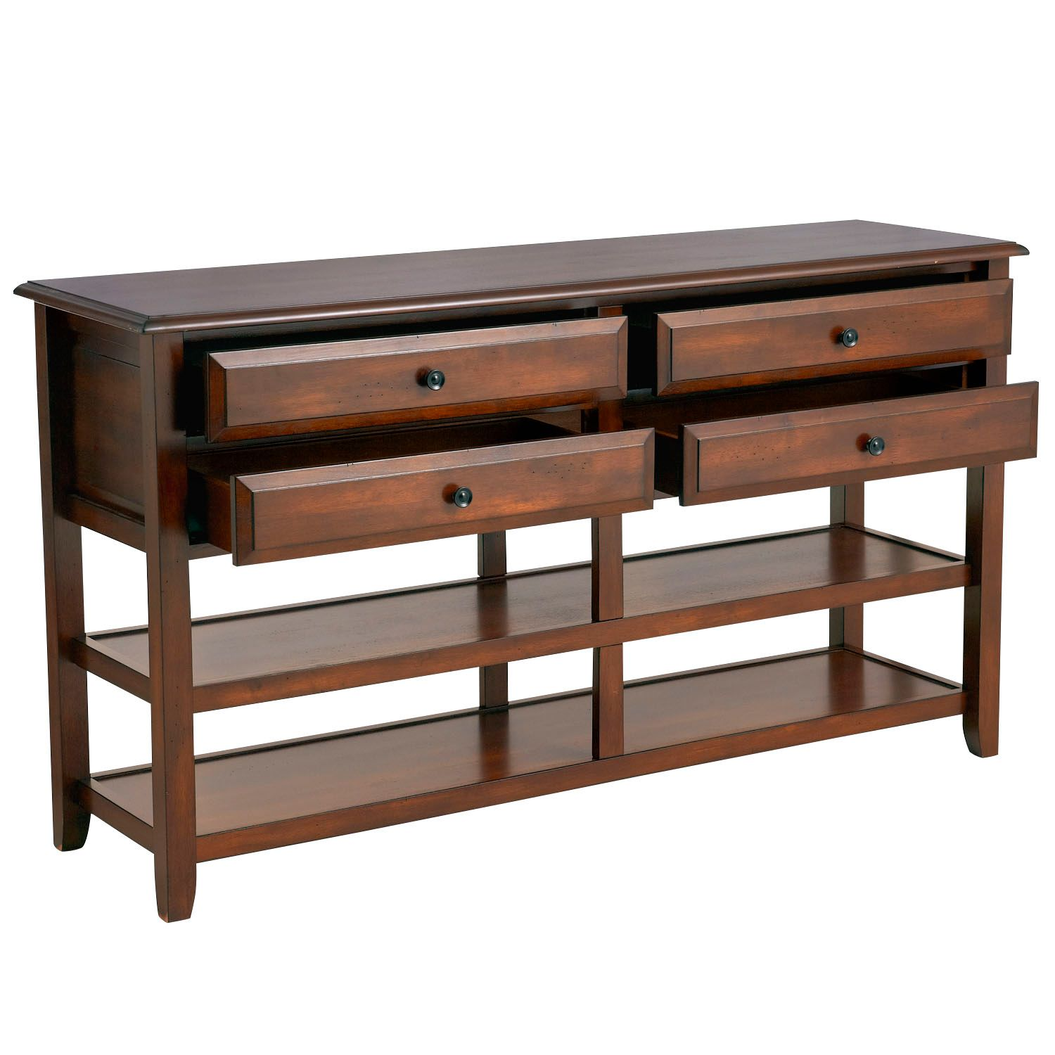 anywhere large tuscan brown console table with kno pier imports one accent collection knobs modern white coffee verizon ellipsis patio furniture side drop mainstays parsons desk