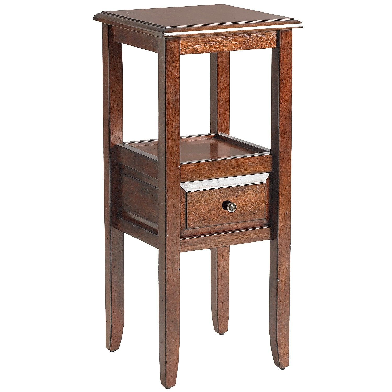 anywhere tuscan brown end table with knobs accent tables keru hardwood pottery barn rain drum wicker garden chairs contemporary marble dining living room storage rustic wall decor