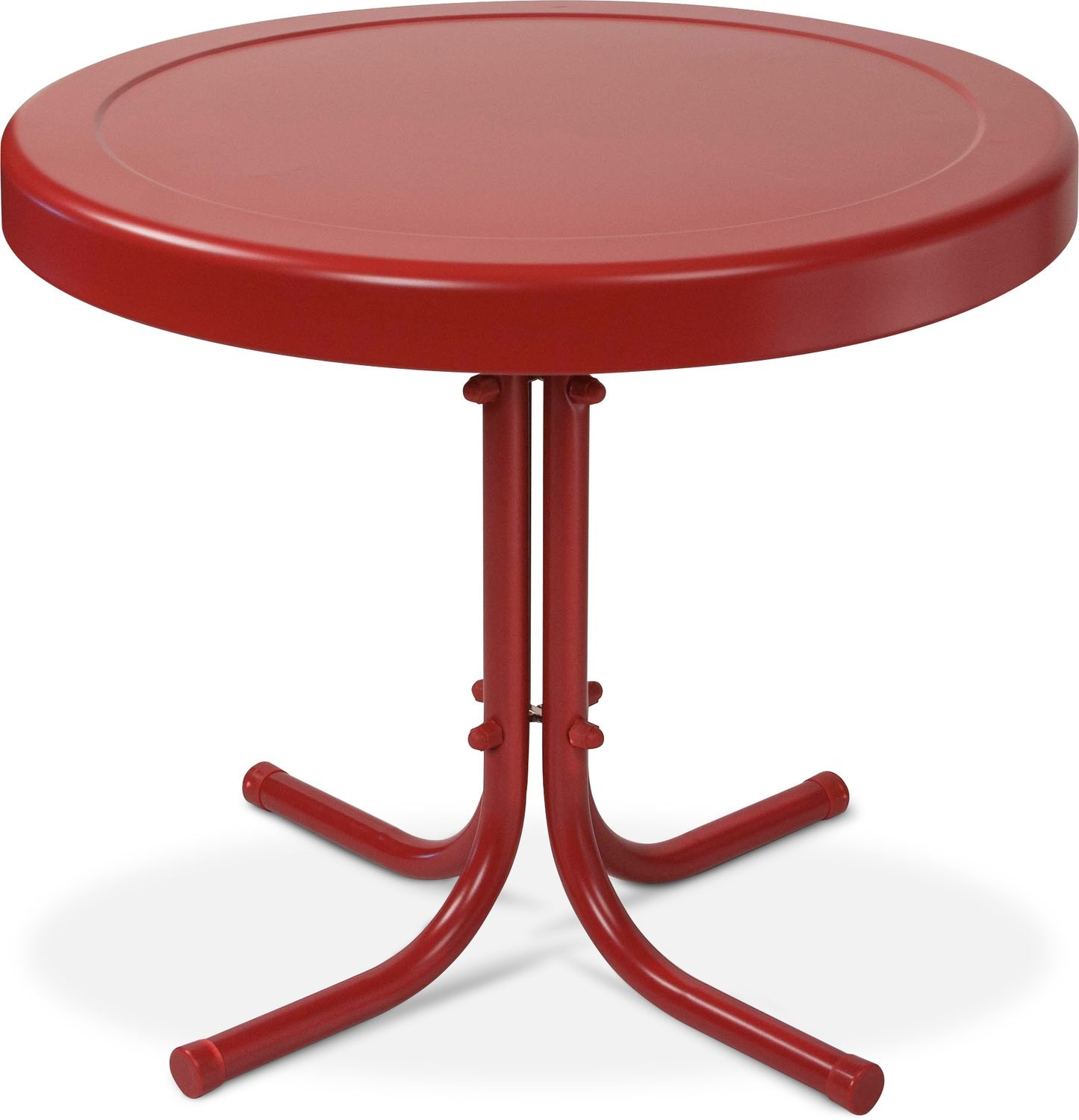 apollo outdoor side table red american signature furniture accent click change free standing patio umbrella diy dining target chairside small foldable coffee kenzie ikea kids