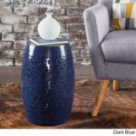 apollos lace cut iron accent table christopher knight home dark blue free shipping today decorative inch round covers beech nest tables glass top patio unique coffee and end 150x150