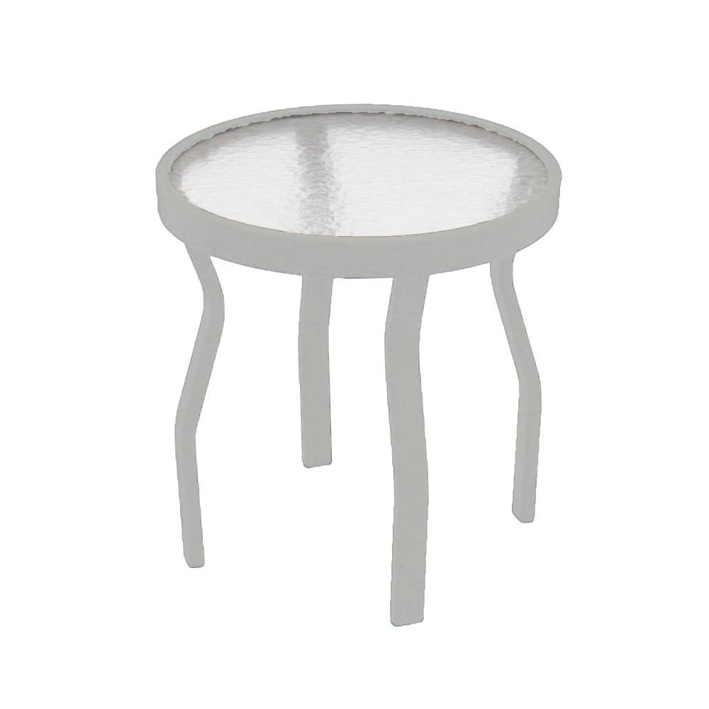 appealing metal patio side table crosley round furniture small fisher target outdoor tables vintage tire clearance glass wilson scenic canadian retro top full size tall skinny