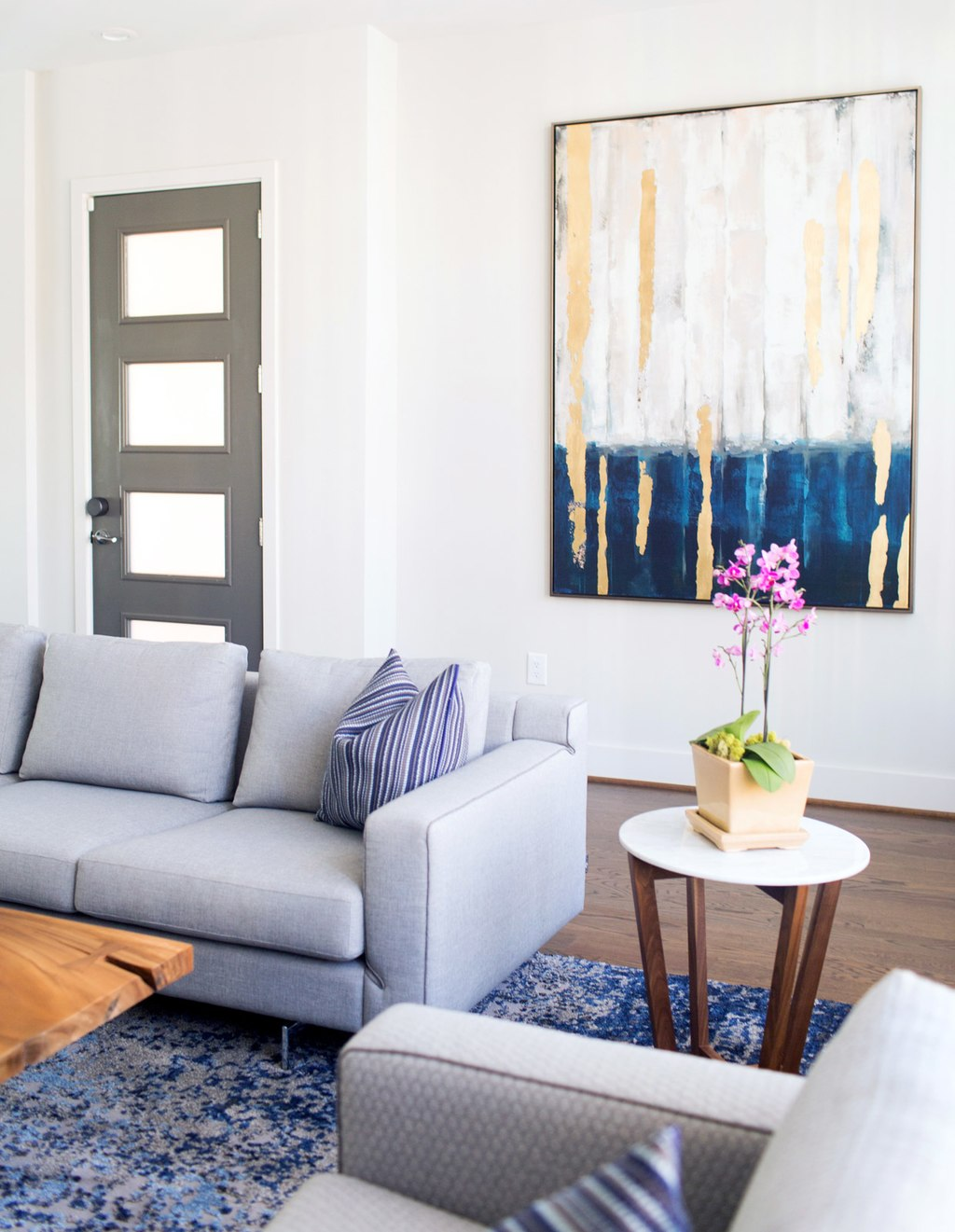 architecturally inclined townhome cantoni lennox mosaic accent table kohls enter designer kohl sudnikovich stranger working with blank palette found his inspiration blue toned