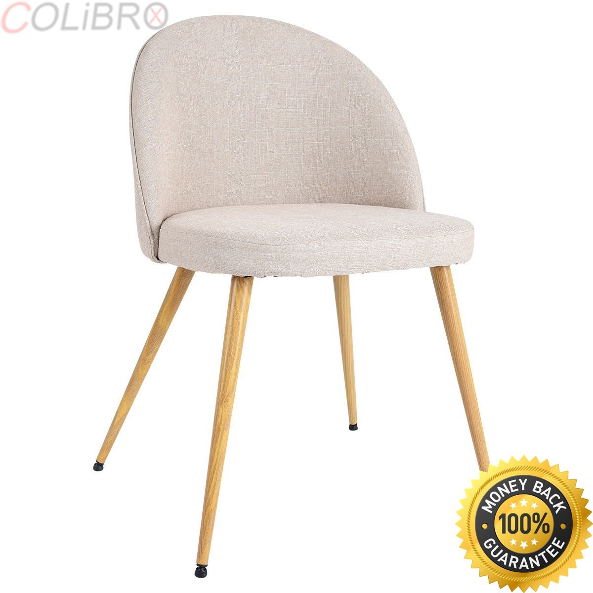 arm accent chairs find line for dining room table get quotations colibrox set fabric cushion seat chair metal leg marble side inch square tablecloth garden string target end