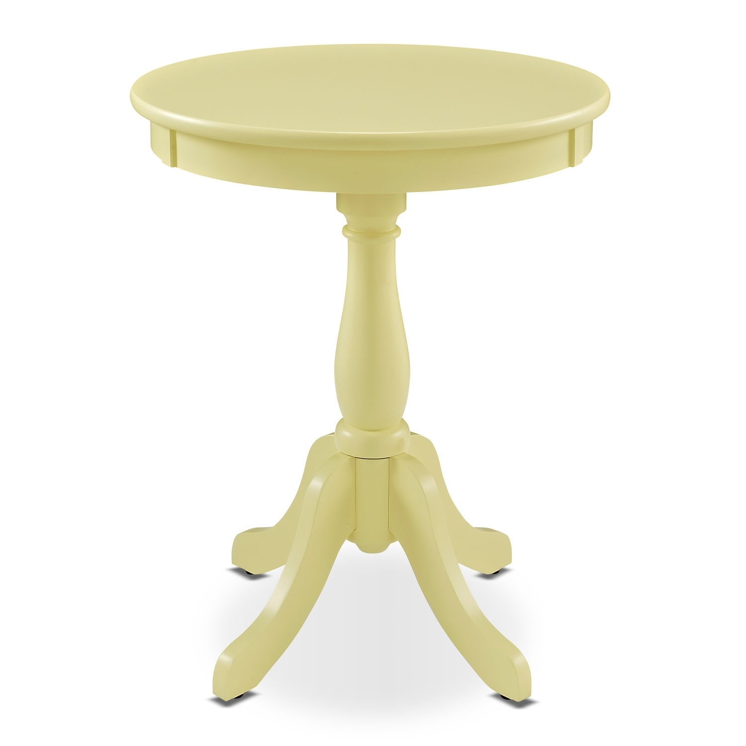 aron side table yellow american signature furniture outdoor accent click change white upholstered dining room chairs oval glass top small patio with umbrella clearance and sauder