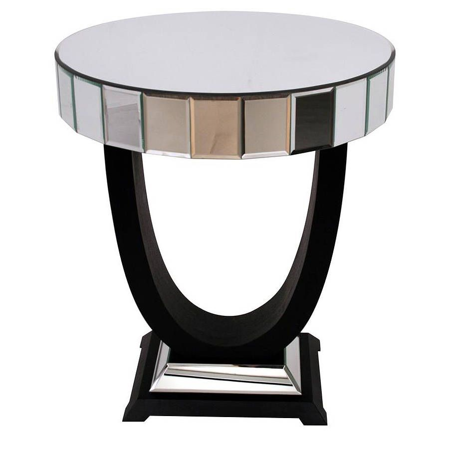 art deco side table search mirrored pyramid accent white bedside with drawers garden chair covers sofa matching mirror black dining room furniture mahogany nest tables round