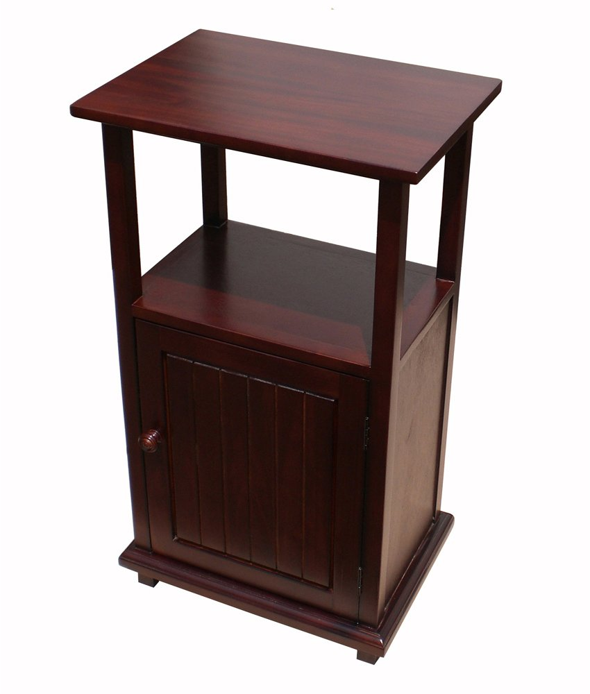 art mahogany finish home indoor wooden simplicity end winsome squamish accent table with drawer espresso display furniture kitchen cherry wood glass coffee drum throne base only
