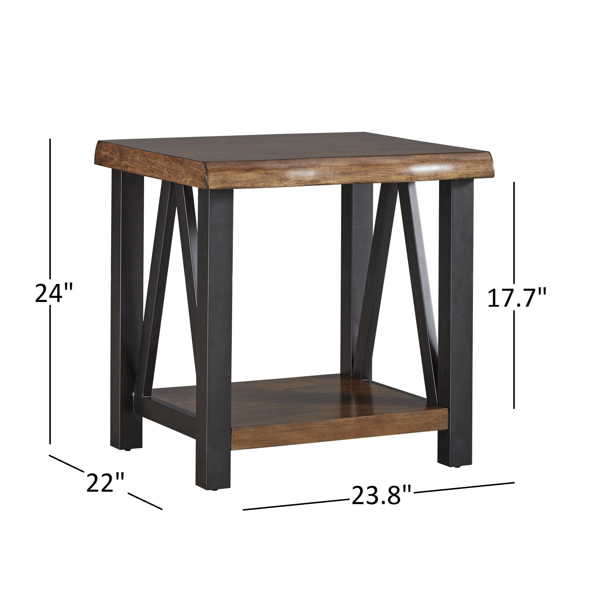 art van tables probably terrific awesome end table wood metal banyan live edge and accent inspire artisan free shipping today whalen furniture high gloss coffee galvin cafeteria